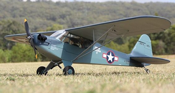 HobbyKing J3 Navy Cub (NE-1) 1400mm (PnP) [VIDEO]