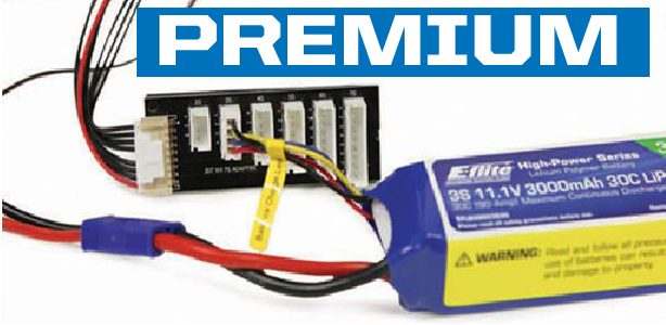 Model Airplane LiPo Battery Packs