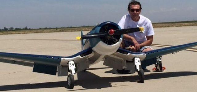 Top Gun Jamie Fiffles' Chance Vought F4U Corsair