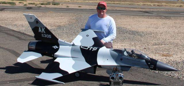 Top Gun Brian Blois' F-16C Fighting Falcon