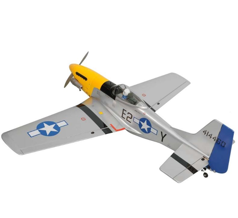 Phoenix Model 1/7 P-51 Mustang  46- 55/EP ARF | GiantScaleNews com