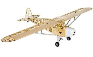 Hobby King Piper J-3 Cub Balsa Wood RC Airplane Laser Cut Kit 1800mm
