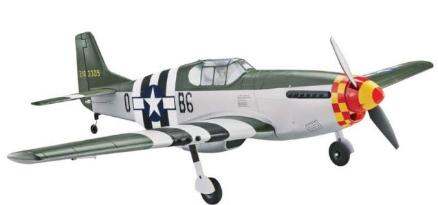 Tower Hobbies P-51B Mustang MkII Berlin Express Rx-R