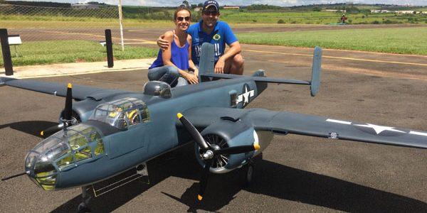 Top Gun Fernando Bellegarde's Mitchell PBJ-1J
