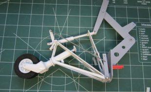 Model Airplane Corsair Tailwheel Upgrade