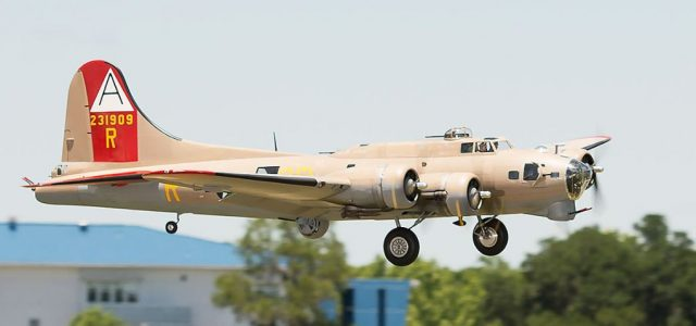 Road to Top Gun — Mike Grady's Boeing B-17 Flying Fortress