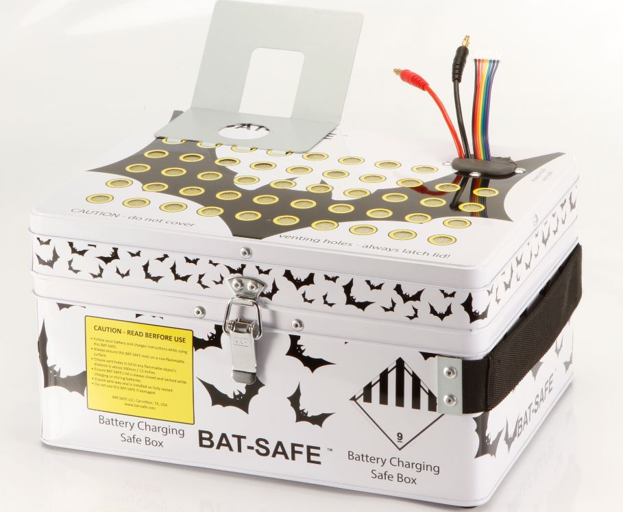 Measuring 12x9x7 Inches The Bat Safe Is A Professionally Designed And Manufactured Lipo Charging Solution That Can Be Used To Charge Up 12s
