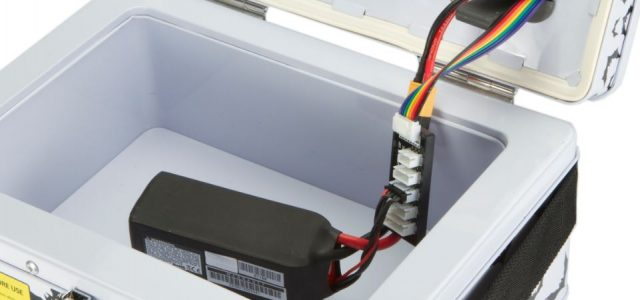 Bat-Safe — Double-wall LiPo Charging Container