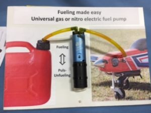 This device makes gas or nitro fueling easy -- no hand work required!