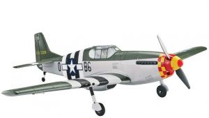 Tower Hobbies P-51B Mustang Berlin Express Rx-R 40 (1)