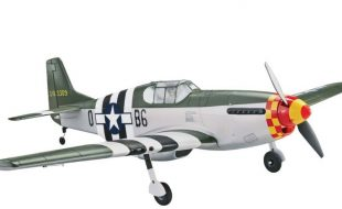 Tower Hobbies P-51B Mustang Berlin Express Rx-R 40″