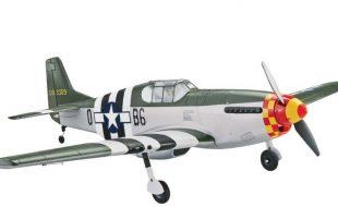 Tower Hobbies P-51B Mustang Berlin Express Rx-R 40″
