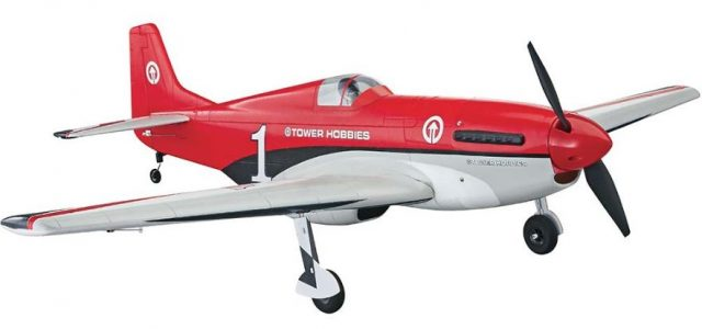 Tower Hobbies P-51D Mustang MkII Racer Red Rx-R [VIDEO]