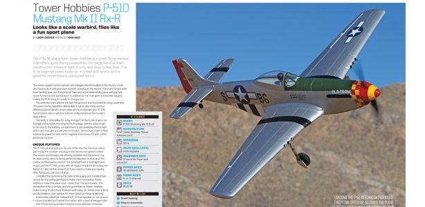 Tower Hobbies P-51D Mustang Mk II Rx-R