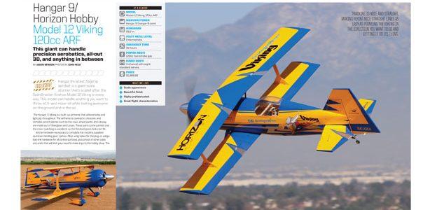 Hangar 9/Horizon Hobby Model 12 Viking 120cc ARF