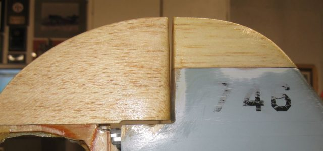 How to: Repair a Vertical Stabilizer and Rudder