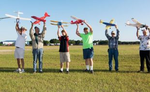 Stick and Tissue Scale at Top Gun — Free Flight Takes Wing!