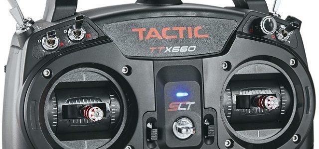 Tactic TTX660 6-Channel 2.4GHz SLT Computer Radio