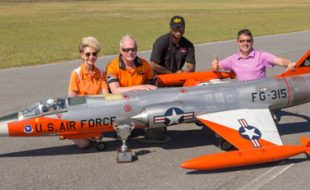 Top Gun Winners and Placers — Pro-Am Jet Class