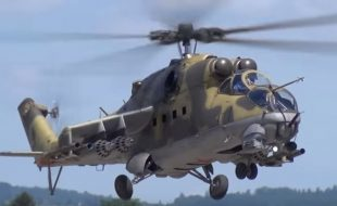 Giant-scale Helicopter Gunship