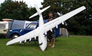 13-Foot-Span Spruce Goose