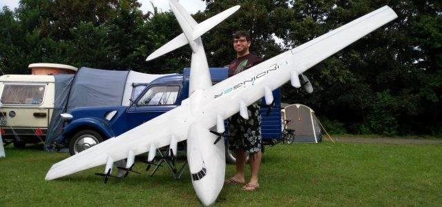 13 Foot Span RC Spruce Goose