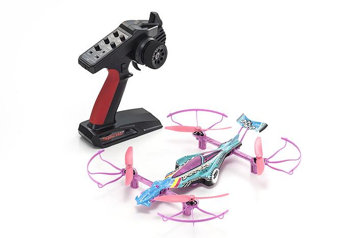 Kyosho ReadySet Pastel Rainbow 1_18 Drone Racer (2)