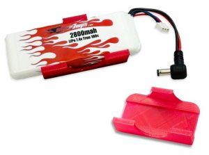 MaxAmps LiPo 2800 2S 7.4v Fat Shark Battery Upgrade Kit (1)