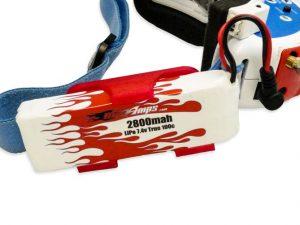 MaxAmps LiPo 2800 2S 7.4v Fat Shark Battery Upgrade Kit (5)