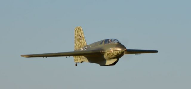 E-Powered Me 163 Komet