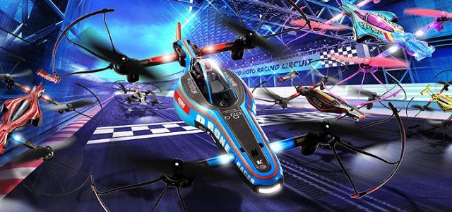 Kyosho ReadySet 1/18 Drone Racer B-Pod Blue
