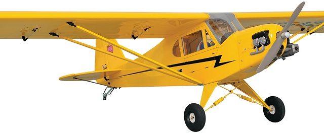 Phoenix Model Piper J-3 Cub GP/EP/Gas ARF [VIDEO]