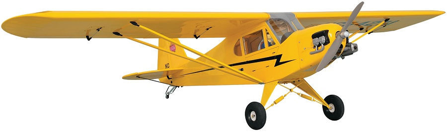 Phoenix Model Piper J-3 Cub GP_EP_Gas ARF (1)