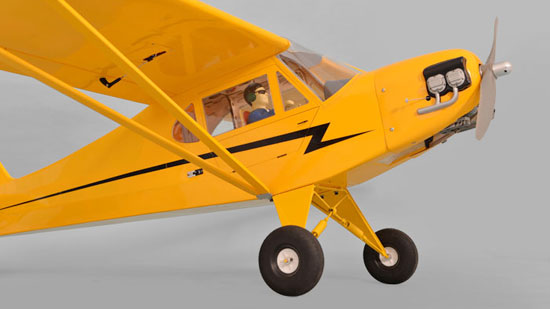 Phoenix Model Piper J-3 Cub GP_EP_Gas ARF (3)