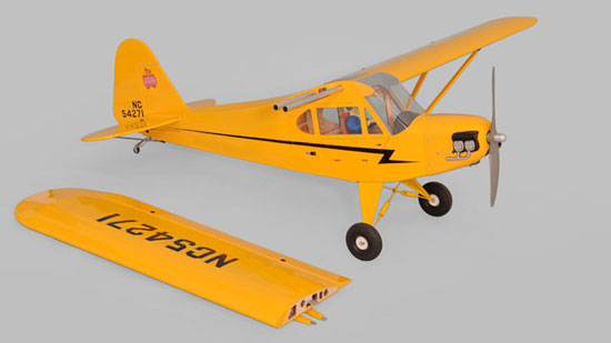 Phoenix Model Piper J-3 Cub GP_EP_Gas ARF (4)