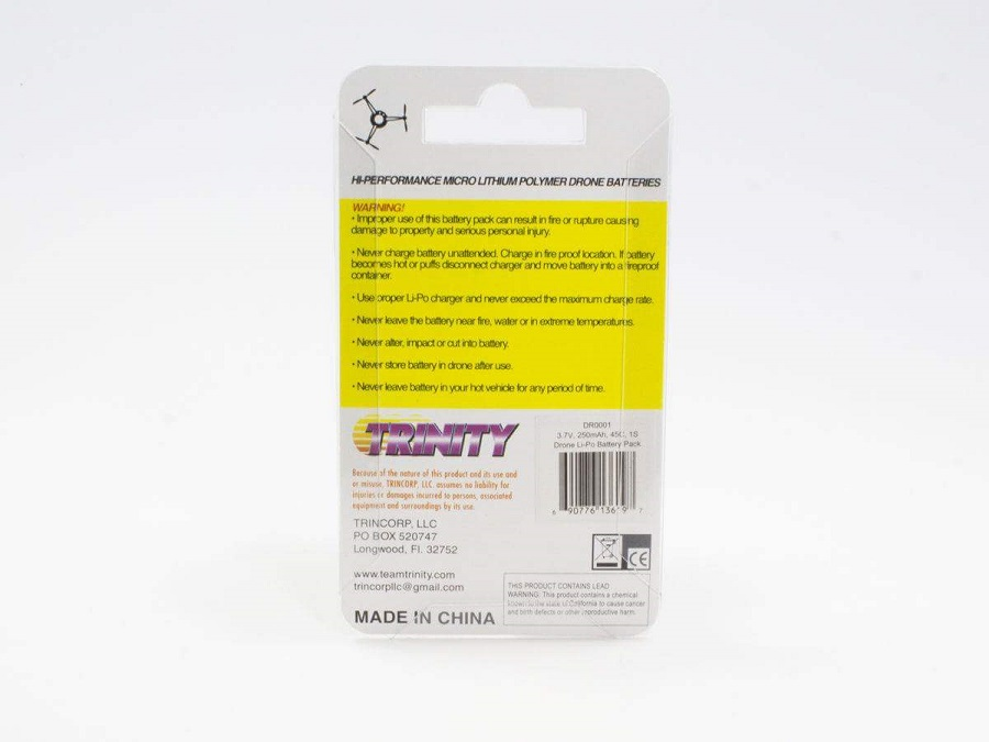 Trinity DR Flight Series LiPo Battery Packs (3)