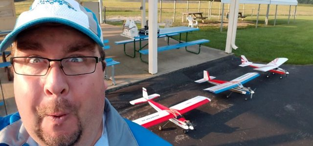 RC Model Airplane Trainer Competition  A Great Way for Modelers to try Competing