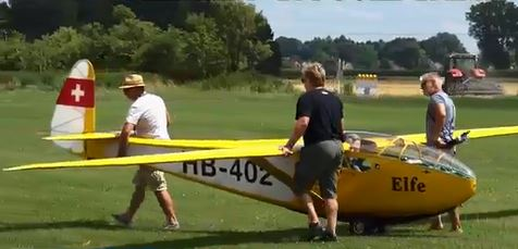Giant Glider: Real or RC … or Both?