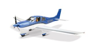 RC Model Airplane E-flite Cirrus SR22T VIDEO