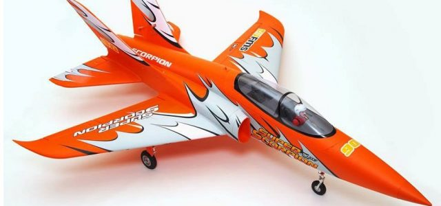 RC Model Airplane FMS Super Scorpion 90mm PNP