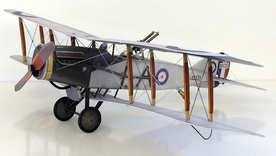 Microaces Aero Bristol F2b Model (1)