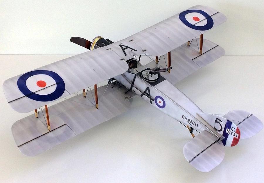 Microaces Aero Bristol F2b Model (2)