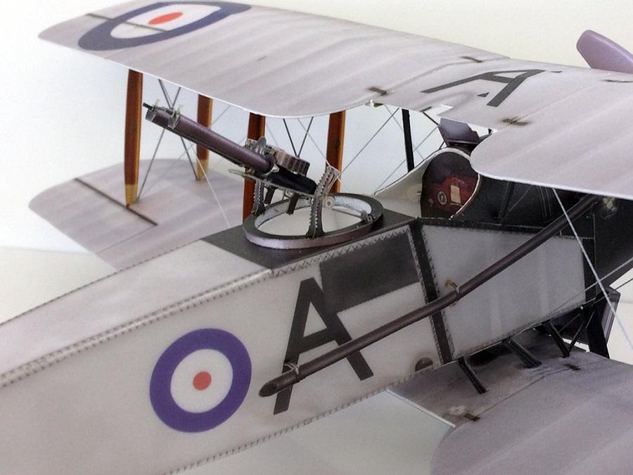 Microaces Aero Bristol F2b Model (3)