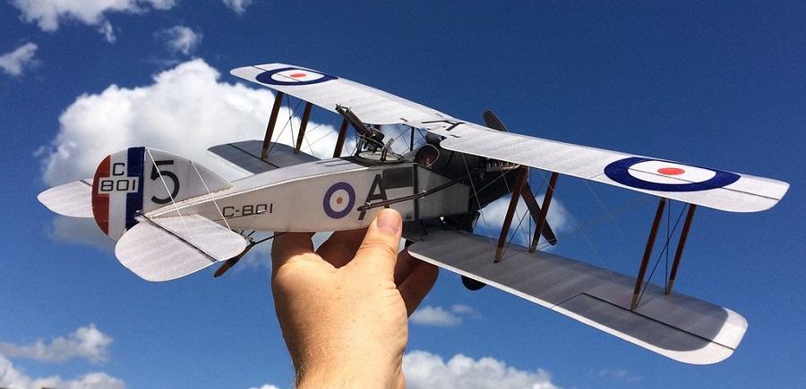 Microaces Aero Bristol F2b Model (5)