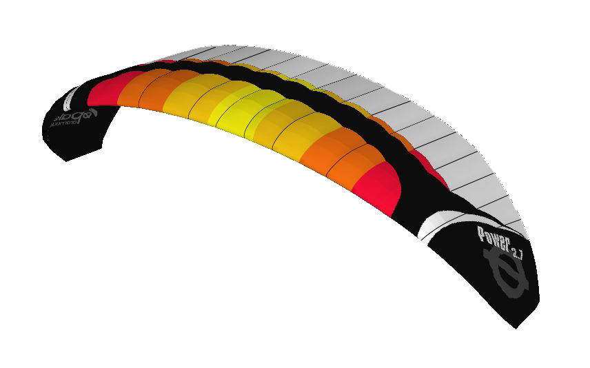 Paraglider Wing Power 2.7_3.67m Aerobatic High Performance (1)