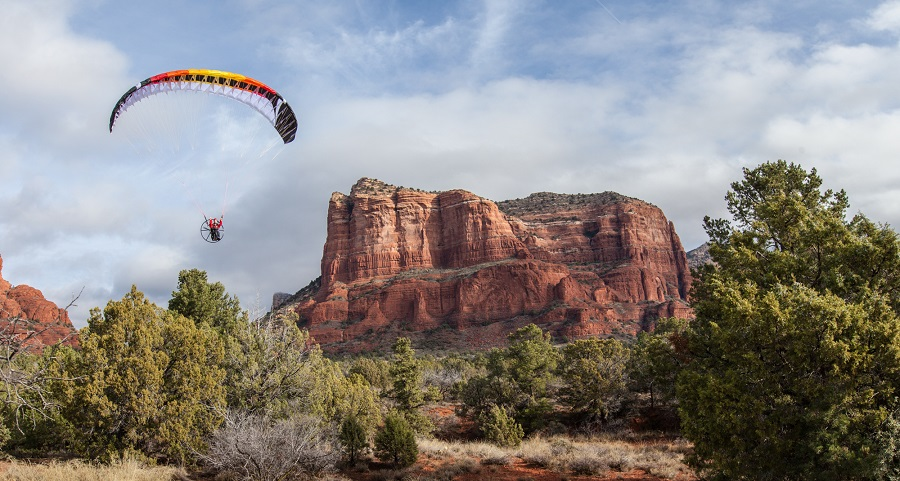 Paraglider Wing Power 2.7_3.67m Aerobatic High Performance (2)