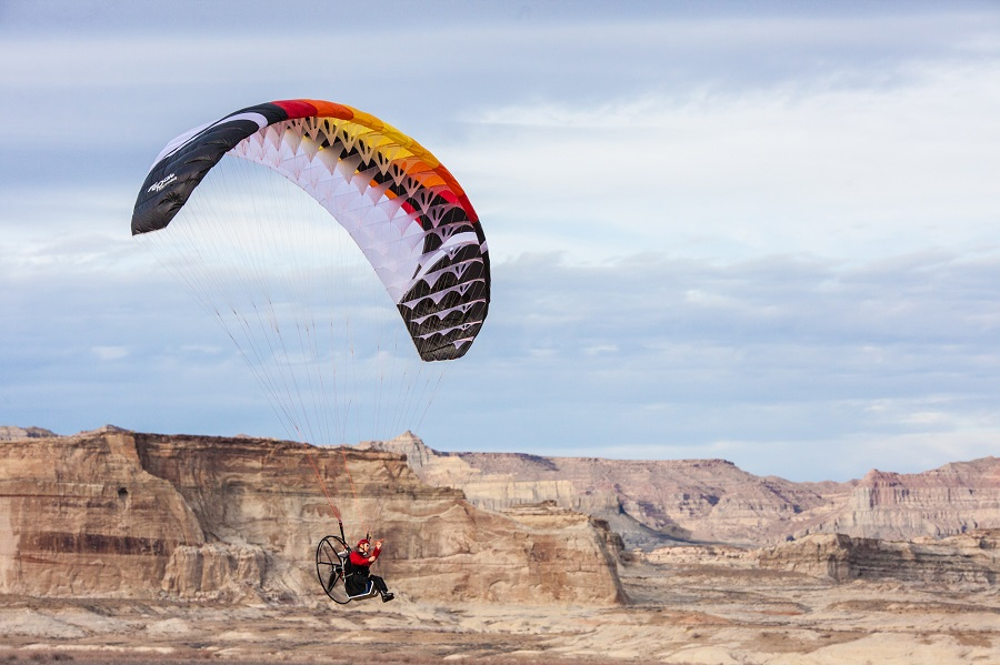 Paraglider Wing Power 2.7_3.67m Aerobatic High Performance (3)