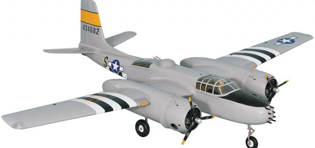 RC Phoenix Model A-26 Invader .46-.55 ARF [VIDEO]