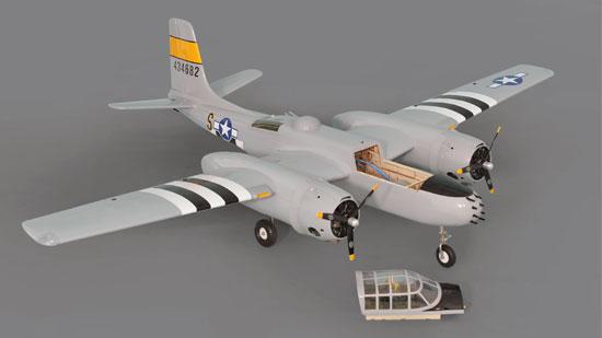 Phoenix Model A-26 Invader .46-.55 ARF (3)