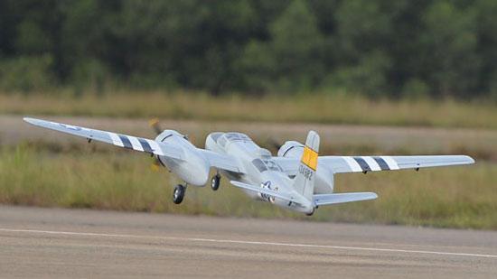Phoenix Model A-26 Invader .46-.55 ARF (4)